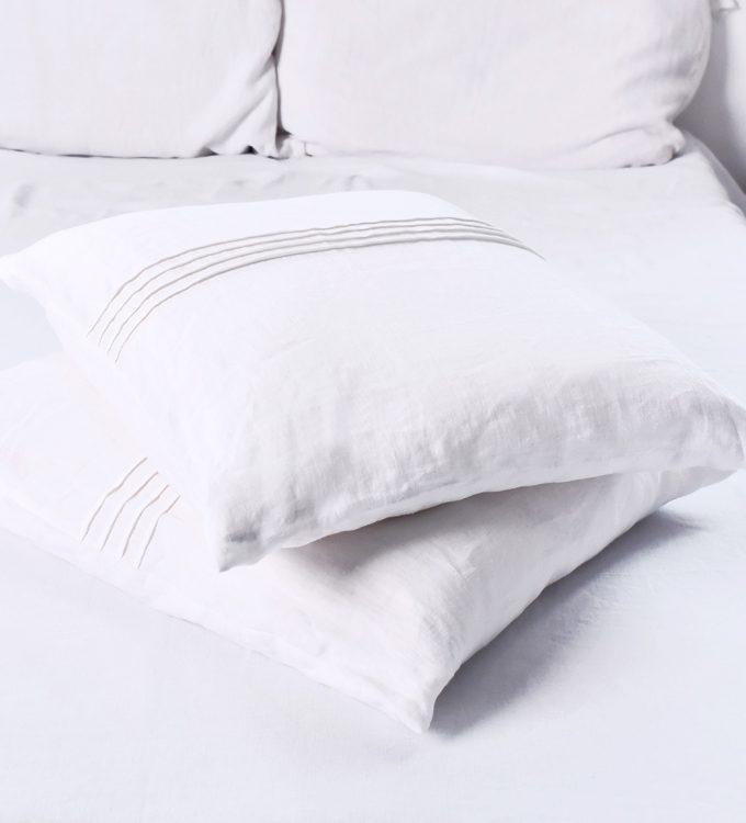 lniana poszewska na poduszke