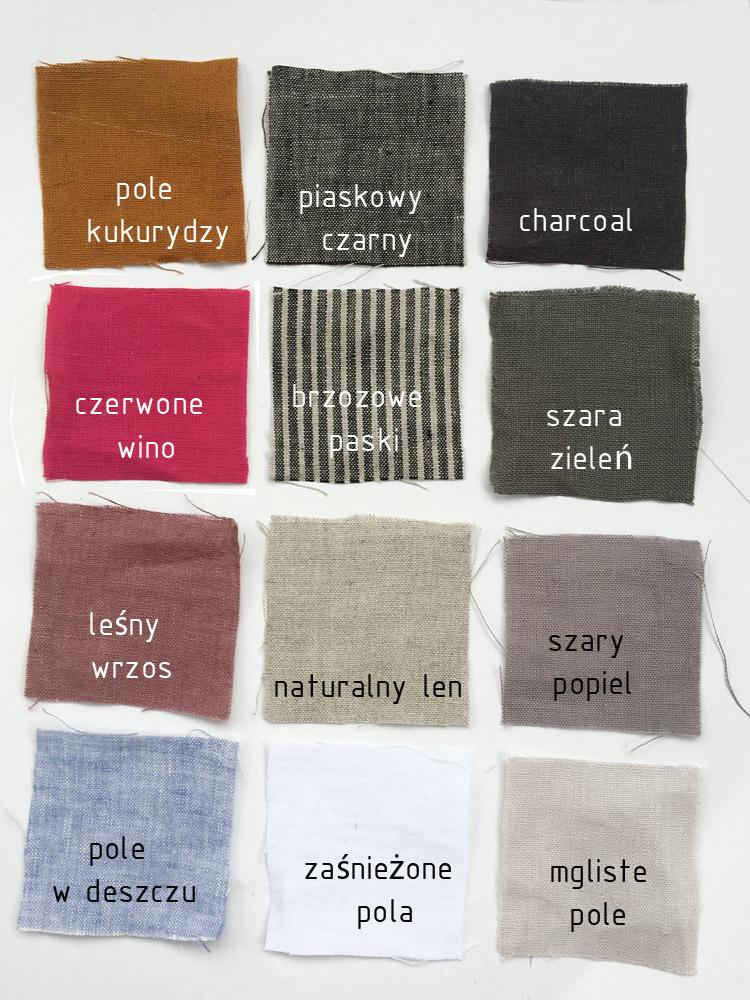 Lniana luźna koszula Maxi 12 kolorów PolemPoLen