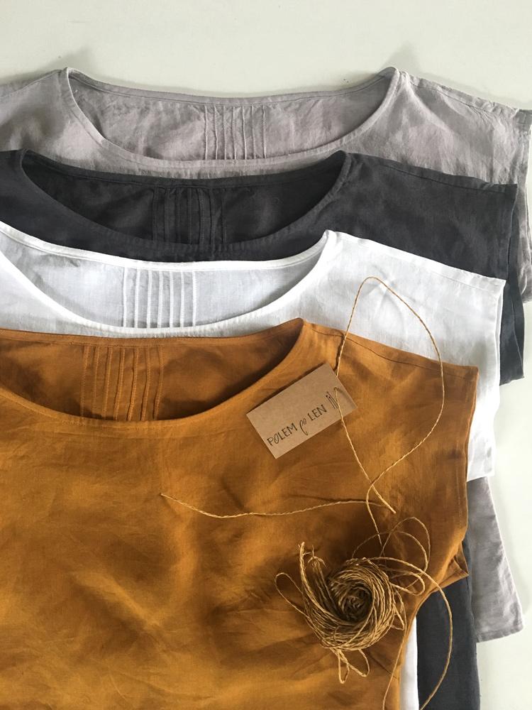 lniane bluzki