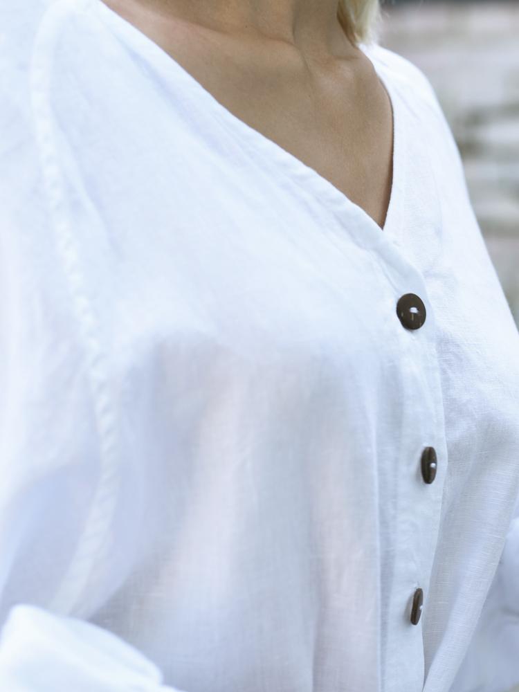duża lniana koszula