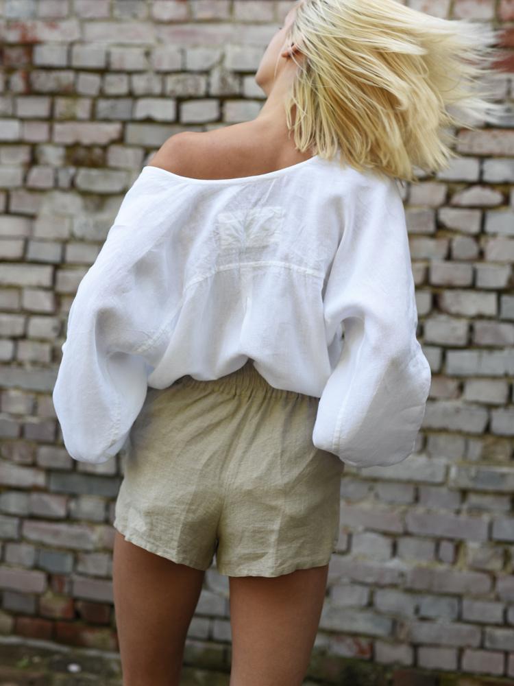 lniana letnia koszula