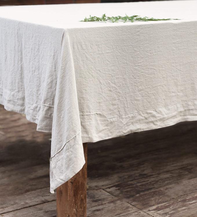 lniane nakrycie na stół