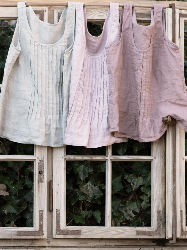 lniana modna bluzka