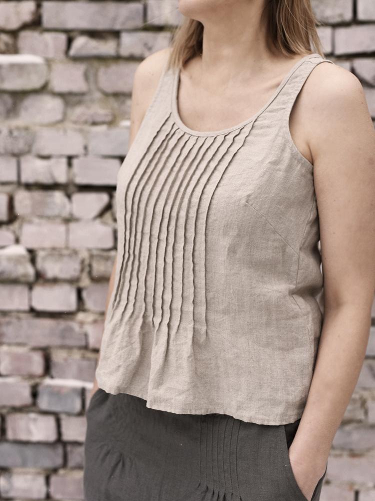 koszulka z lnu dla kobiet